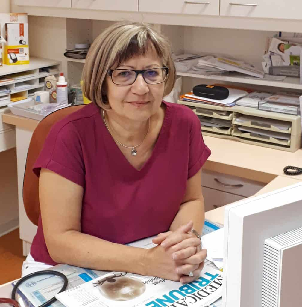 Dipl-Med. Annett Lehnert, Fachärztin für Innere Medizin